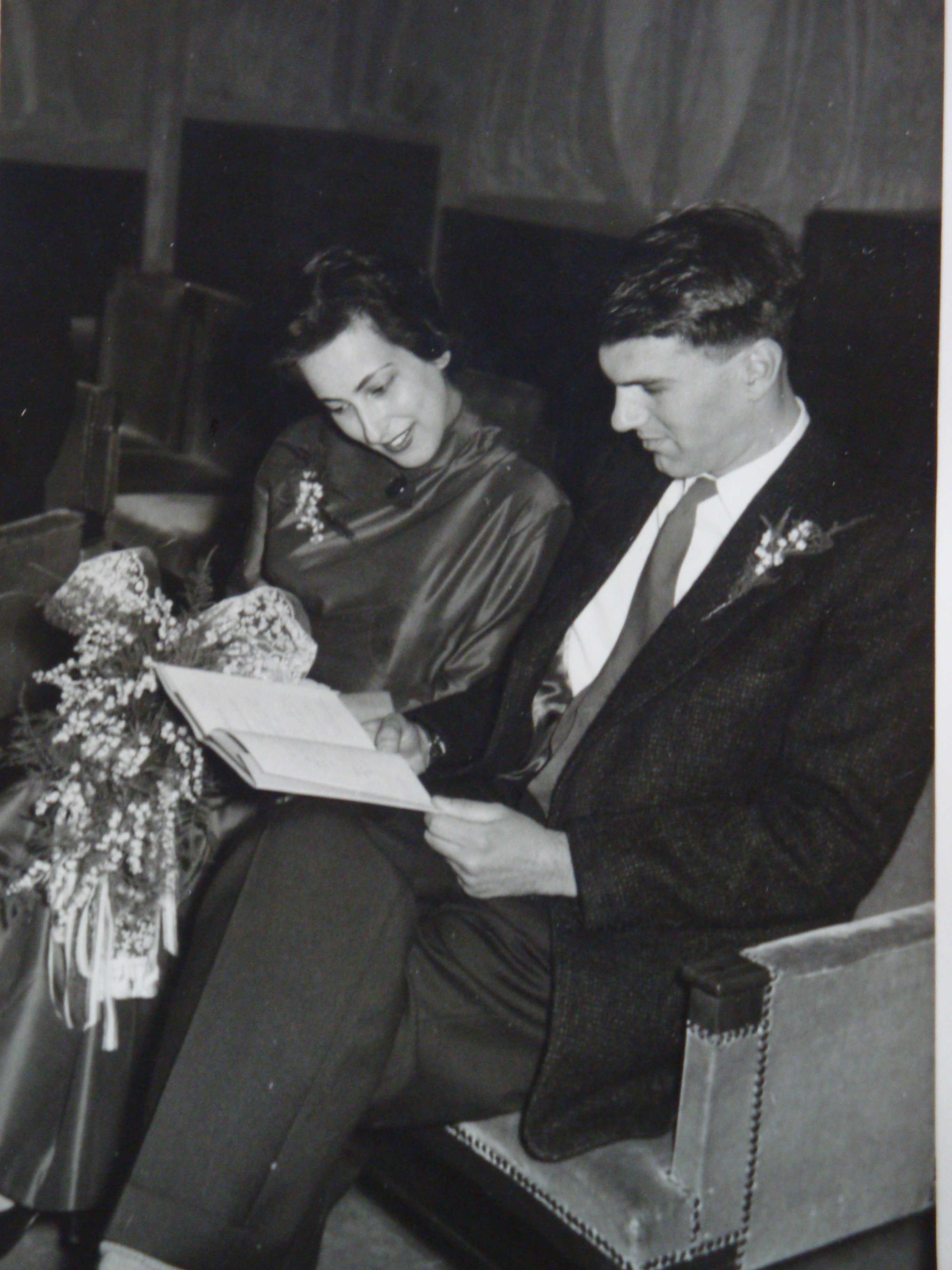 Huwelijk Van Der Ende : Huwelijk elly van der sommen