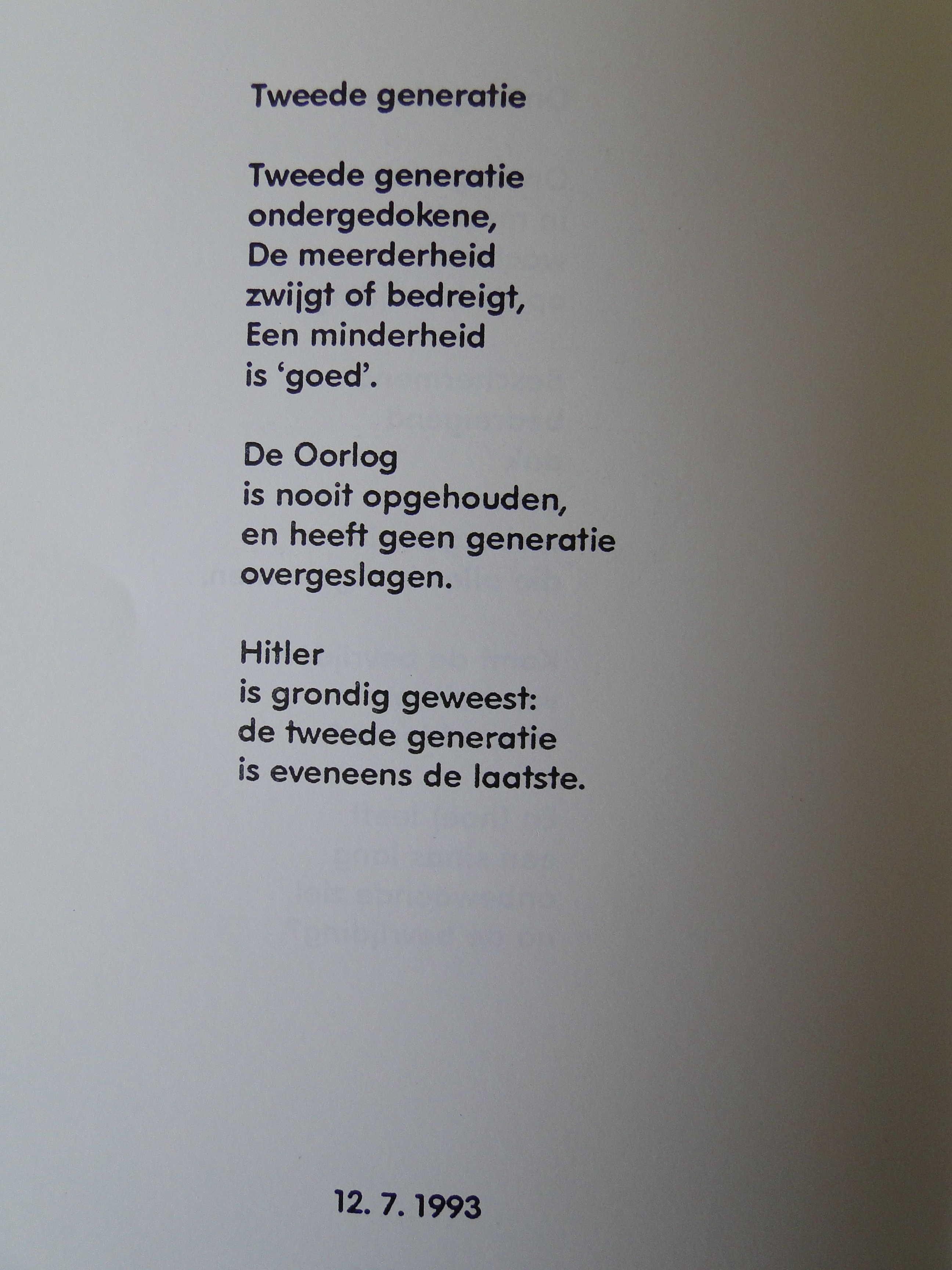 Saartje Hoed Van Gelderen